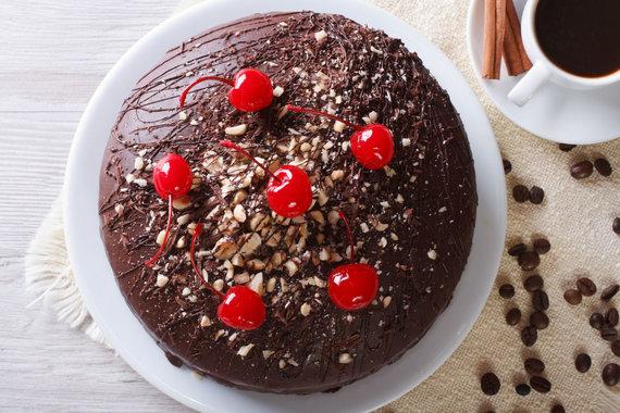 123RF.com nuotr./Šokoladinis tortas