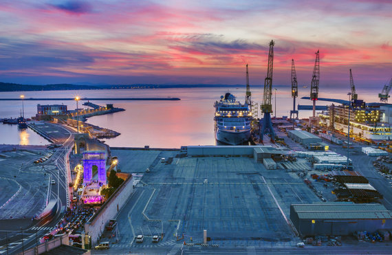 123RF.com nuotr./Ankonos uostas, Italija