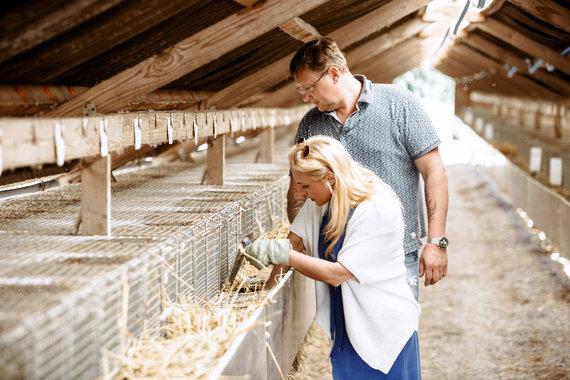 Asmeninio arch. nuotr./Žvėrelių augintojų Ūksų ferma