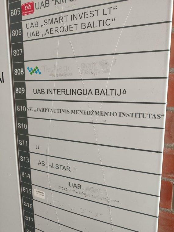 Tarptautinio menedžmento institutas / K.Mikoliūnaitės nuotr.