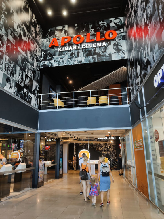 """""""Apollo"""" kino teatras Panevėžyje / K.Mikoliūnaitės nuotr."""