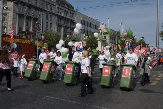Partnerio nuotr./Airijoje profesinės sąjungos veikia jau apie šimtą metų, tad turi gilias tradicijas ir pagarbą visuomenėje – Airijoje profesinėms sąjungoms priklauso apie 37 proc. visų darbuotojų.