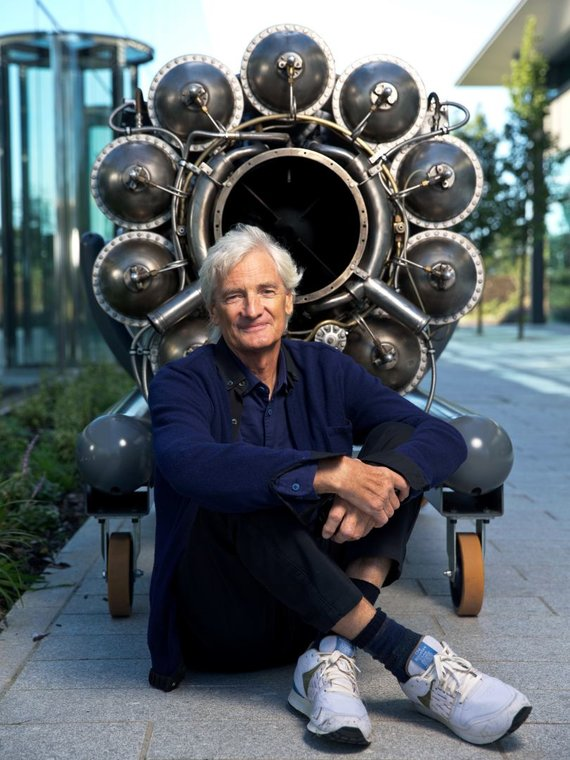 Partnerio nuotr./ James Dyson