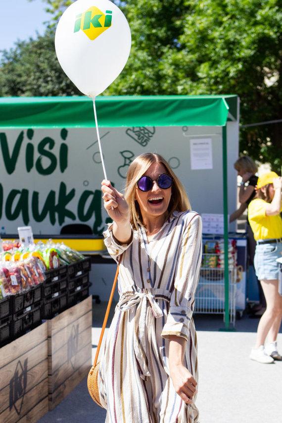 IKI nuotr./Maisto tinklaraštininkė Kristina Pišniukaitė-Šimkienė