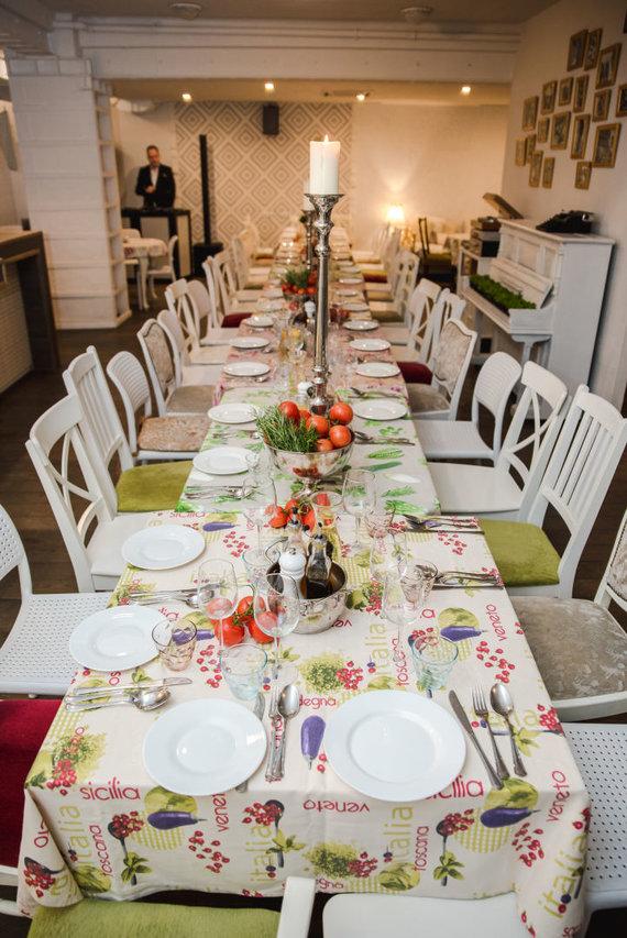 Partnerio nuotr./Makaronų namai – pozityviai chaotiško italų gyvenimo būdo meka