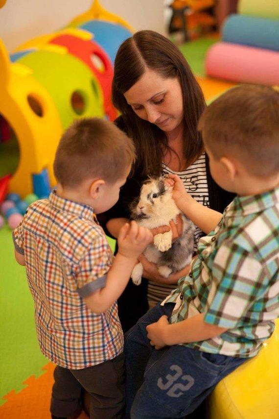 Partnerio nuotr./ALISA – žaidimų šalis, kurioje vaikai išmoksta rūpintis gyvūnais