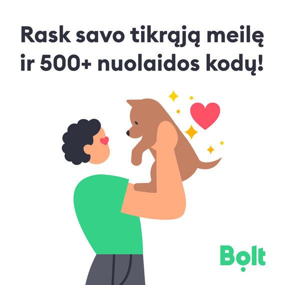"Partnerio nuotr./""Bolt"" Šv.Valentino dienos akcija"