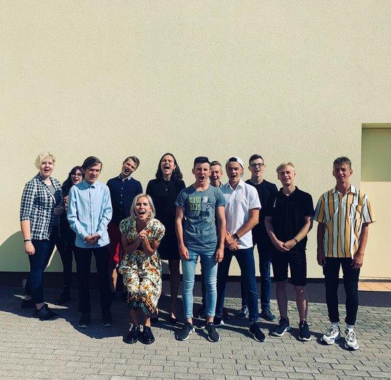 Partnerio nuotr./Marija Serbintaitė (penkta iš kairės)