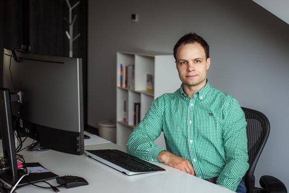 Partnerio nuotr./JAV programavimo paslaugų įmonėje karjeros kelią jau beveik penkerius metus kuriantis DevOps praktikų vadovas Marius Guobys