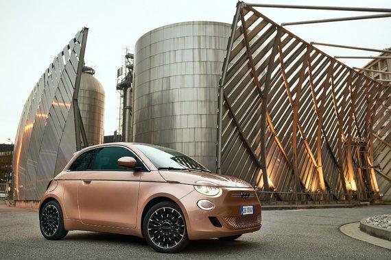"""Partnerio nuotr./Elektrinis """"Fiat 500"""""""