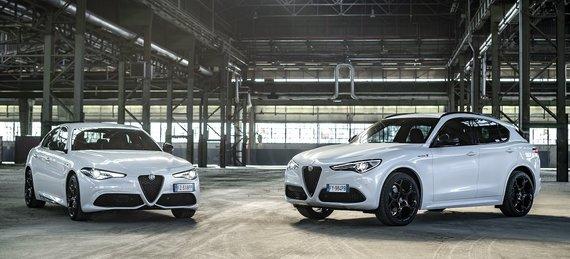 """Partnerio nuotr./""""Alfa Romeo Giulia"""" ir """"Stelvio"""""""