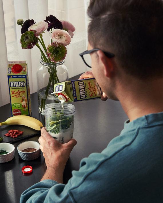 Asmeninio archyvo nuotr./O.Gasanovo jėgų šaltinis – kefyras: dalijasi savo kokteilių receptais
