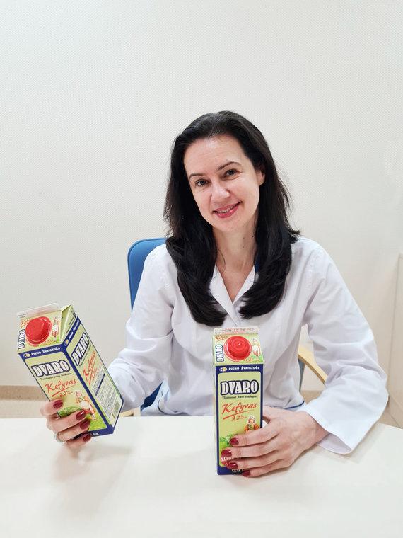 """Partnerio nuotr./""""Pieno Žvaigždžių"""" Mažeikių pieninės filialo vyriausioji technologė Vilma Laukytė-Staniuvienė"""