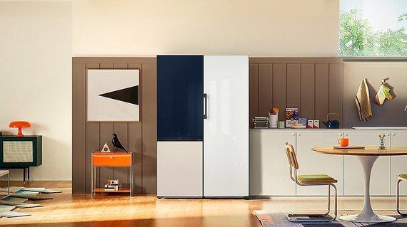"""Partnerio nuotr./""""Samsung Bespoke"""" šaldytuvas"""