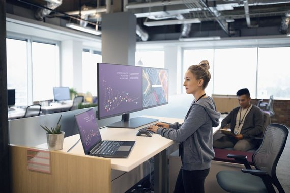 """Dell Technologies"" nuotr./""Dell Technologies"" kompiuteris ir monitoriai"