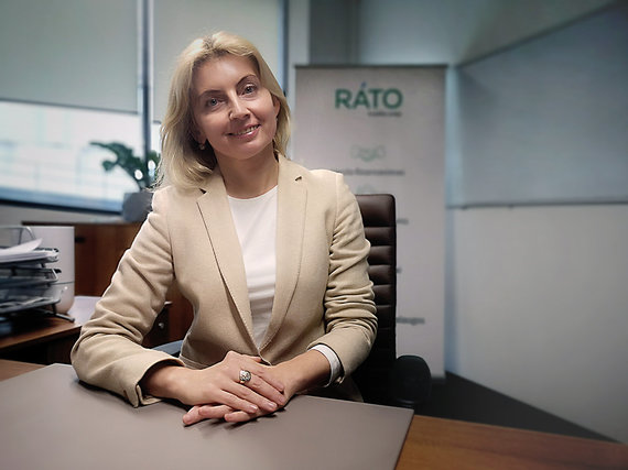 """RATO"" nuotr./Kredito unijos RATO klientų vadybininkė Elvyra Stefanovič"