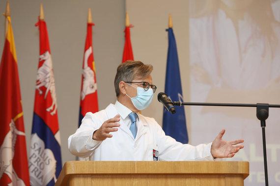 LSMU nuotr./LSMU Medicinos akademijos Medicinos fakulteto dekanas prof. Algimantas Tamelis