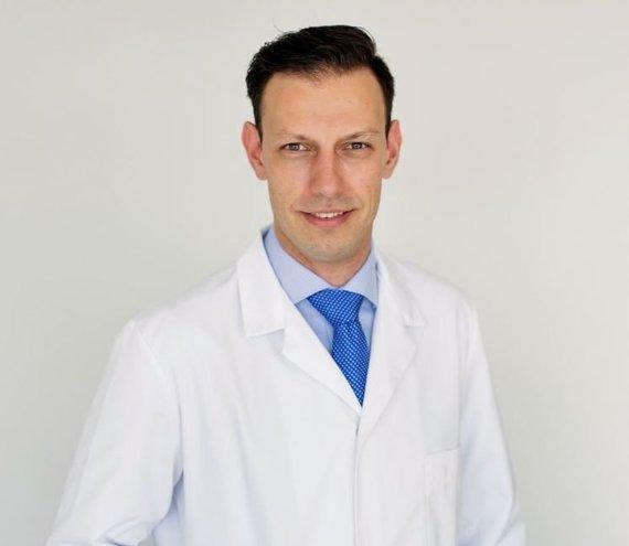 Asmeninio archyvo nuotr./Gydytojas urologas Titas Simaška