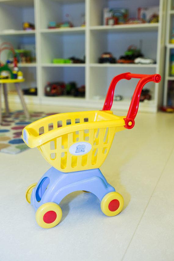 Organizatorių nuotr./Metų žaislas iki 3 metų: pirkinių vežimėlis
