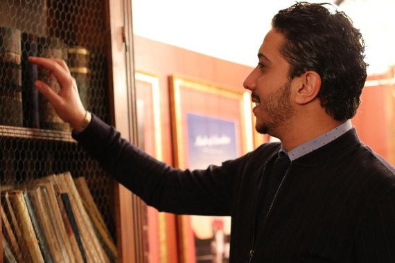 Projekto partnerio nuotr./Libanietis Alaa Aridi