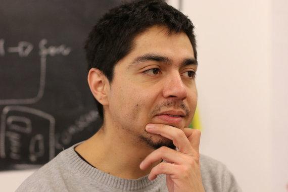 Projekto partnerio nuotr./Roberto iš Meksikos