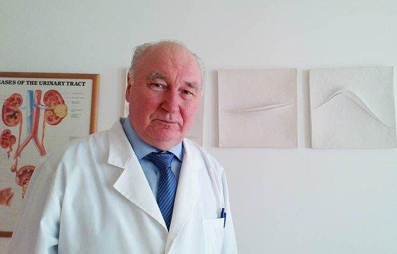 Projekto partnerio nuotr./Urologas prof. Balys Dainys