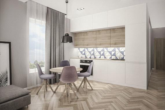 Projekto partnerio nuotr./Linos Klios suprojektuota virtuvė