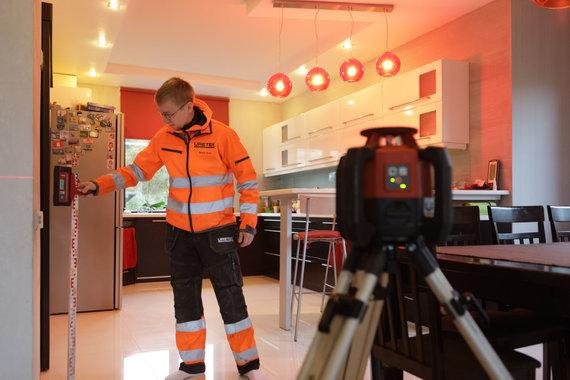 """Projekto partnerio nuotr./""""Uretek"""" nusėdusių pastatų pakėlimas"""