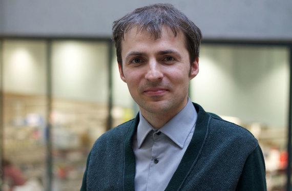 Projekto partnerio nuotr./Biochemikas dr. S.Kriaučionis