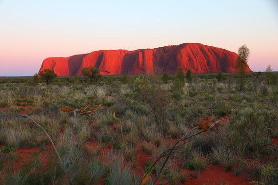 "Kelionių agentūros ""GRŪDA"" nuotr. /Uluru uola Australijoje"