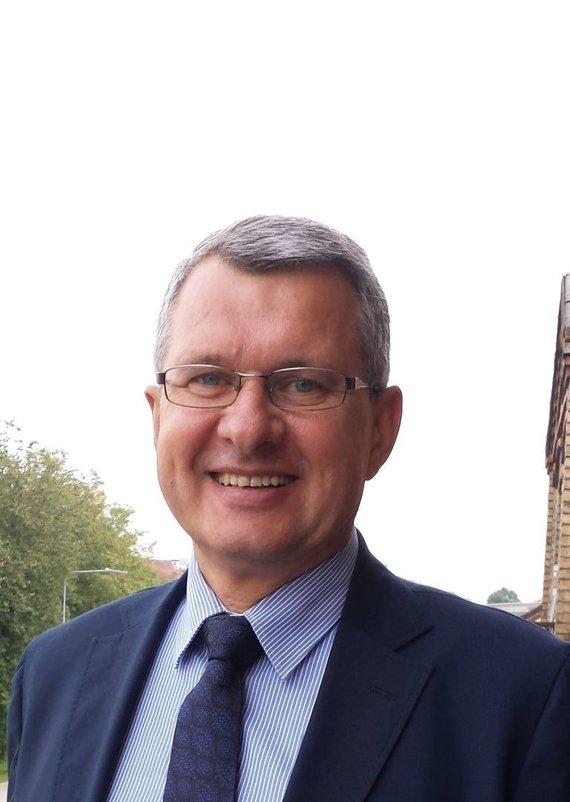 ARATC nuotr. /Alytaus regiono atliekų tvarkymo centro direktorius Algirdas Reipas