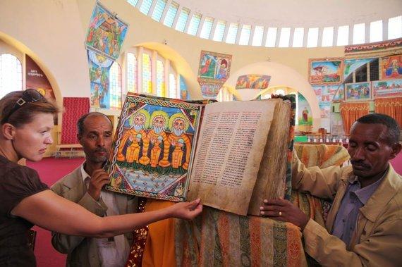 """Kelionių organizatoriaus """"GRŪDA"""" nuotr. /Krikščioniškoji Etiopijos šiaurė"""