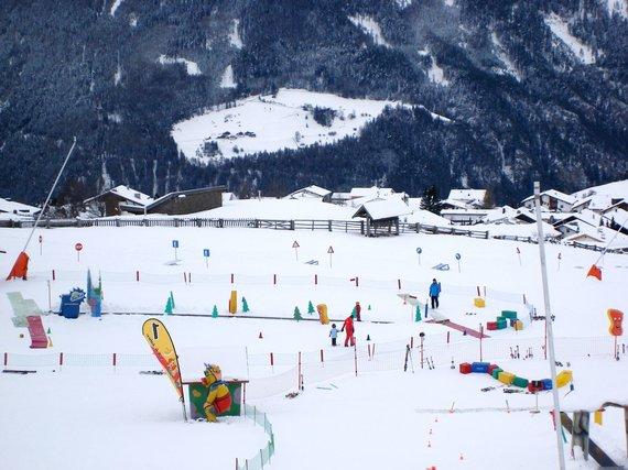 """Kelionių organizatoriaus """"GRŪDA"""" nuotr. /Vaikų slidinėjimo mokyklėlė Austrijoje"""