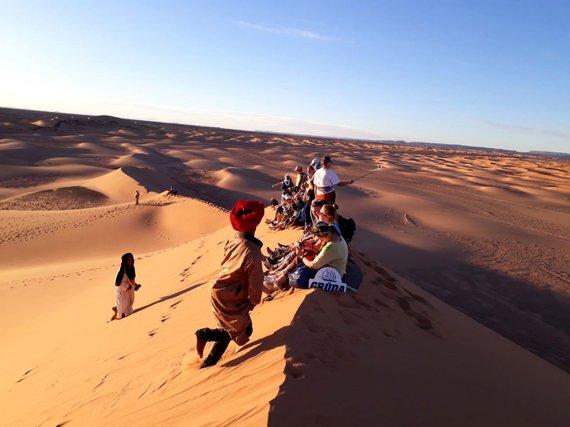 """Kelionių organizatoriaus """"GRŪDA"""" nuotr. /Kelionių organizatoriaus """"GRŪDA"""" grupė Maroke"""