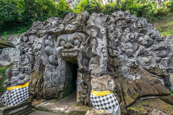123RF.com nuotr./Goa Gajah šventykla Balyje