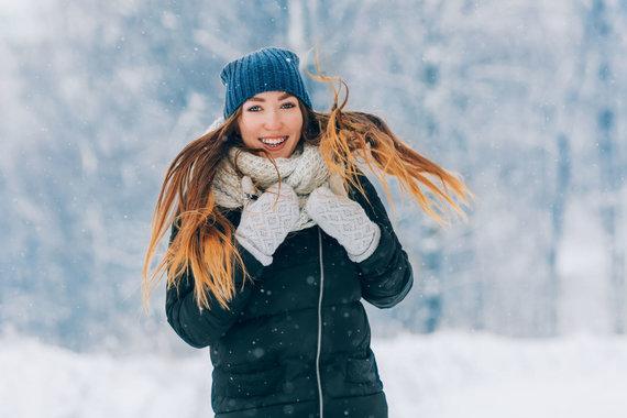 123RF.com nuotr./Veido odos priežiūra žiemą