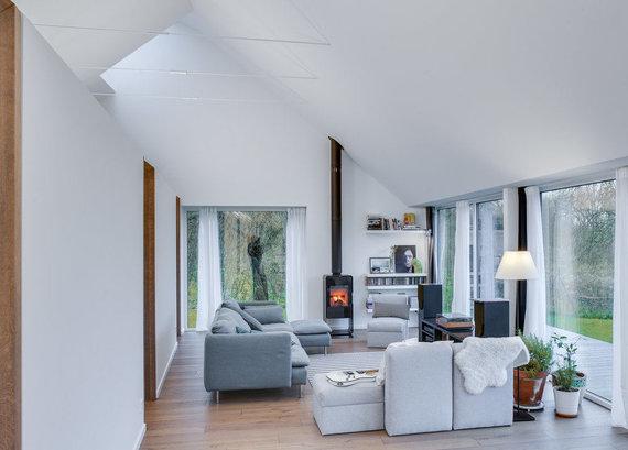 """Norberto Tukajaus nuotr. /""""DO architects"""" projektuotas namas Pavilnių regioniniame parke"""