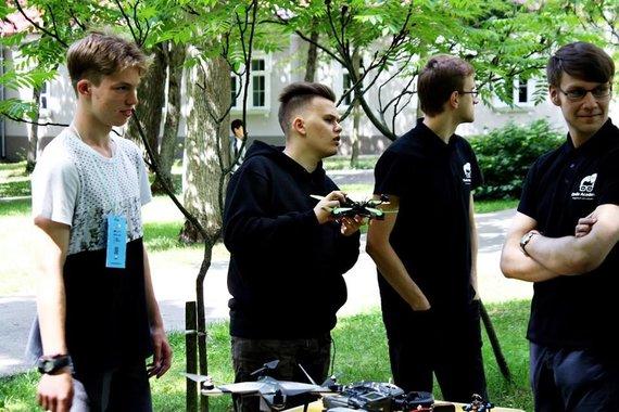 """""""CodeAcademy Kids"""" nuotr. /""""CodeAcademy Kids"""" 2017-ųjų vasaros stovyklų akimirkos"""