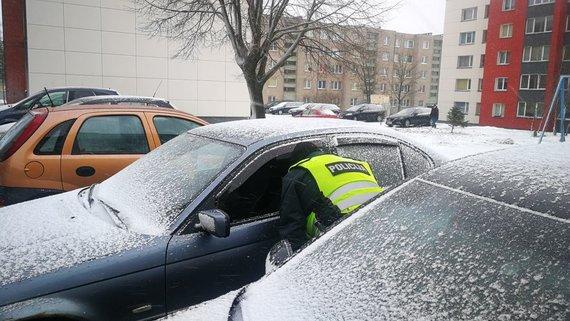 jonavoszinios.lt nuotr./Jonavoje per parą apvogta dvylika automobilių