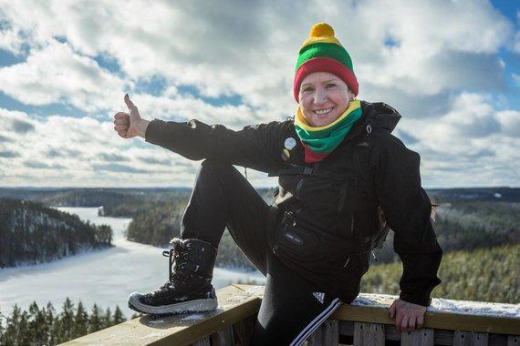 Andriaus Sakalausko nuotr. /Kelionė į Suomijos Repovesi nacionalinį parką ir trijų dienų pėsčiųjų žygis