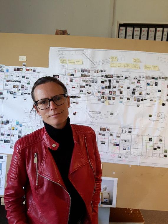 Asmeninio archyvo nuotr. / Ostralės bienalės meno vadovė Andrea Hilger