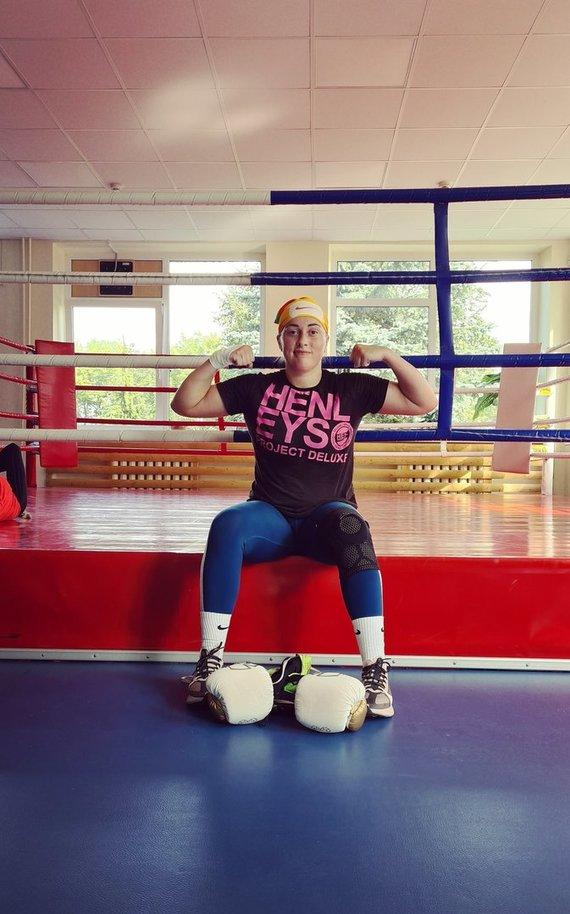 Asmeninio archyvo nuotr. /Austėja – profesionali sportininkė, kurią klastinga onkologinė liga užpuolė visai netikėtai