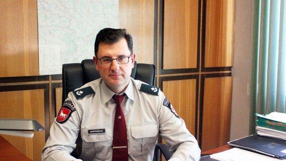 Jonavos r. PK viršininkas Šarūnas Martinkėnas
