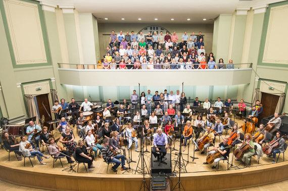 Tomo Didvalio nuotr./Kauno miesto simfoninis orkestras