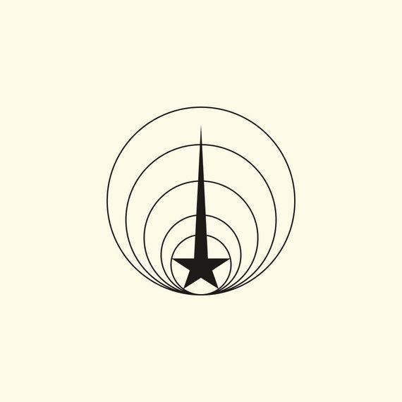 """R.Sutkaičio iliustracijos /Projektas """"Soviet Logos"""". Maskvos centrinės televizijos logotipas."""