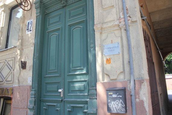 Senosios durys V.Putvinskio gatvėje