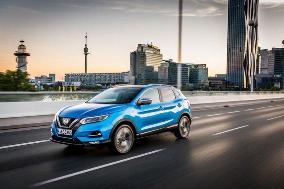 """Gamintojo nuotr./""""Lietuvos metų automobilio 2018"""" konkurse - """"Nissan Qashqai""""."""