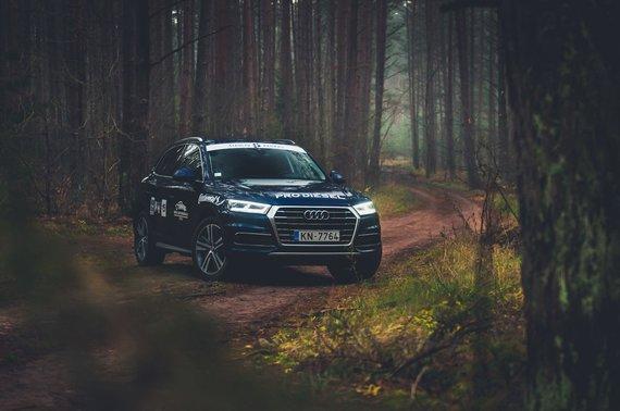 Vytauto Pilkausko nuotr./Audi Q5