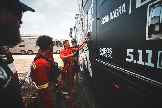 """Edgaro Buiko nuotr./Peru ugniagesiai, vietinių vadinami """"bomberos"""""""