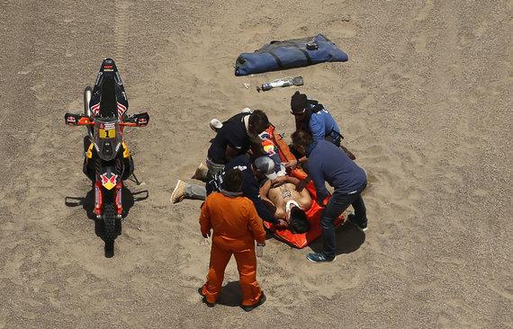 """""""Reuters""""/""""Scanpix"""" nuotr./Samas Sunderlandas Dakare lenktynių nebetęs"""